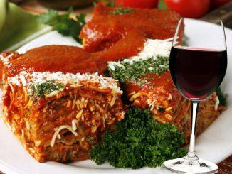 receta de lasagna